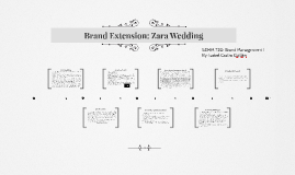 Brand Extansion: Zara Wedding
