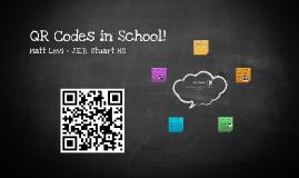 QR Codes in School!