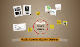 How Radio Communication Devices Work