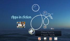 2013 iPossibilities Workshop: Apps In Action