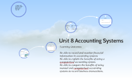Copy of Unit 8 Accounting Systems