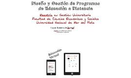 2-Diseño y Gestión de Programas de Educación a Distancia