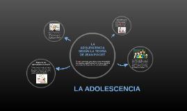 La adolescencia, según la teoría de Jean Piaget.