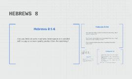 HEBREWS 6
