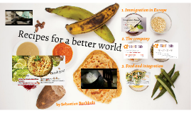 Recipes for a better world