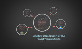 Controlling Urban Sprawl: The Other