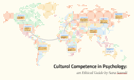 Copy of Cultural Competence in Psychology