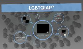 Seksualiteit - Les 1 - LGBTQIAP?