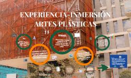 EXPERIENCIA-INMERSIÓN ARTES PLASTICAS