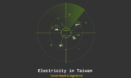 Copy of Electricity in Taiwan