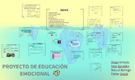 PROYECTO DE EDUCACIÓN EMOCIONAL