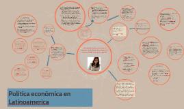 Política económica en Latinoamerica