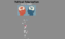 Political Polarization of America?