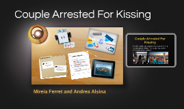 Couple Arrested For Kissing