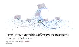 How Human Activities