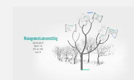 Managementsamenvatting Blok 1b ADDT Les 3