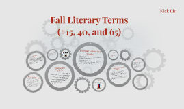 Fall Literary Terms