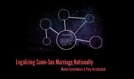 Legalizing Same-Sex Marriage Nationally