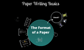 Paper Writing Basics (JPN 22)