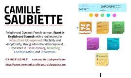 CV Camille SAUBIETTE