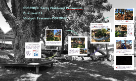 EDEC11027: Early Childhood Pedagogies