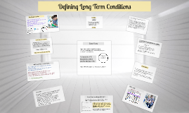 Defining Long Term Conditions