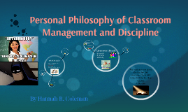 the philosophy of classroom management