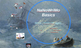 NaNoWrimo Basics for the Naperville region