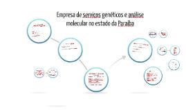 Empresa de serviços de genética