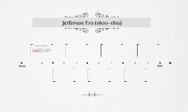 Jefferson Era (1800-1816)