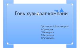 Copy of  Говь хувьцаат компани