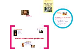 Paleolithic Humans