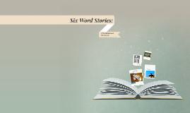 Six-Word Stories