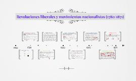 Revoluciones liberales y