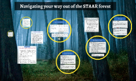 Navigating your way out of the STAAR forest