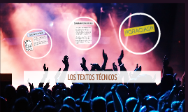 Copy of LOS TEXTOS TÉCNICOS
