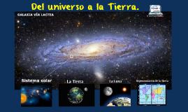 Tema 1: Del universo a la Tierra.