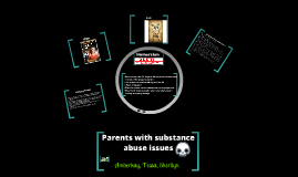 Children whose parents have substance abuse issues