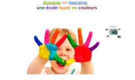 Ecole d'Auzouer-en-touraine