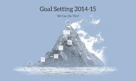 Goal Setting PLT