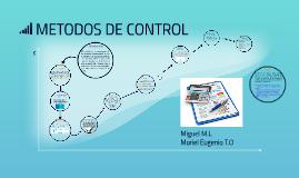 TECNICAS DE CONTROL