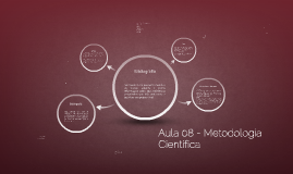 Aula 08 - Metodologia Cientifica