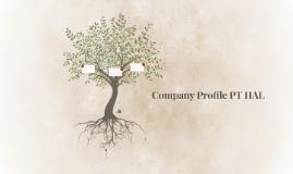 Company Profile PT HAL