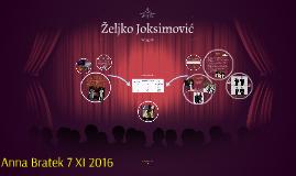 Zeljko Joksimović