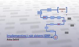 Implementimi i një sistemi ERP