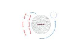 DOMAINS CONCEPT MAP