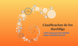 Copy of Clasificacion de los therbligs