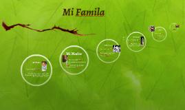 Copy of Mi Famila