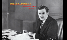 Maurice Duplessis