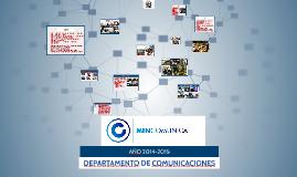 DEPARTAMENTO DE COMUNICACIONES